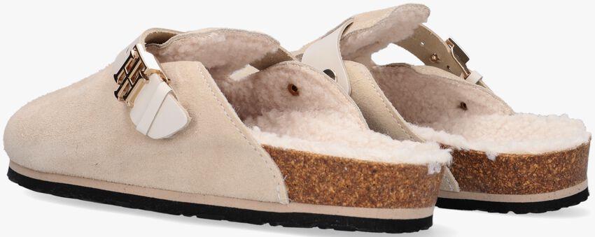 Beige TOMMY HILFIGER Pantoffels TH WARMLINED CLOSE T  - larger