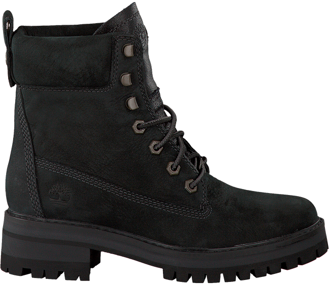 Zwarte TIMBERLAND Veterboots COURMAYEUR VALLEY YB  - large