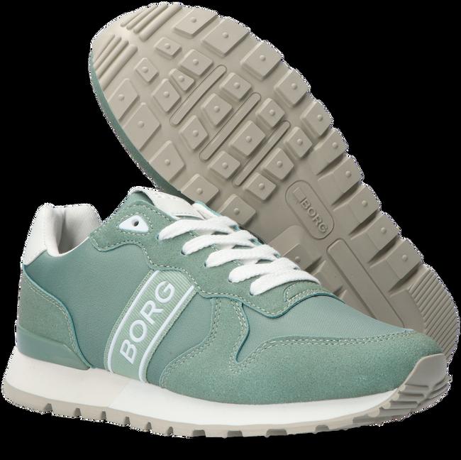 Groene BJORN BORG Lage sneakers R455 WSH NYL W  - large