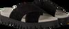 Zwarte GABOR Slippers 741 - small