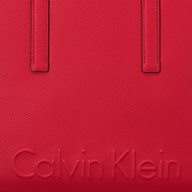 Beige CALVIN KLEIN Shopper EDGE MEDIUM SHOPPER - large