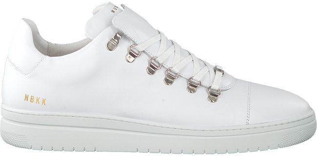 Witte NUBIKK Sneakers YEYE CALF MEN  - large