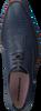 Blauwe FLORIS VAN BOMMEL Nette schoenen 16280  - small