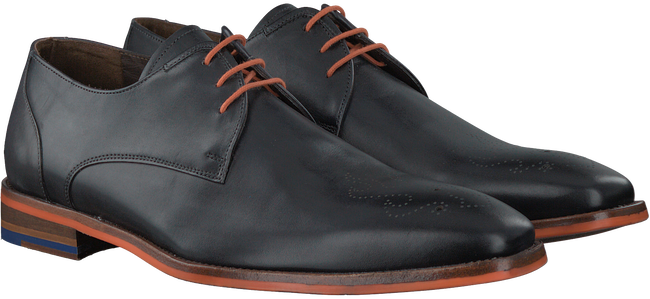 Grijze FLORIS VAN BOMMEL Nette schoenen 18014  - large