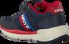 Blauwe LEVI'S Lage sneakers OREGON II DNM VEL  - small