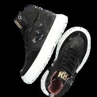 Zilveren RED-RAG Hoge sneaker 13128  - medium
