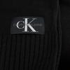 Zwarte CALVIN KLEIN Sjaal J BASIC MEN KNITTED SCARF  - small
