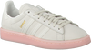 Witte ADIDAS Sneakers CAMPUS DAMES  - small