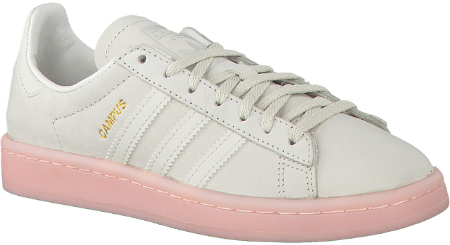 Witte ADIDAS Sneakers CAMPUS DAMES  - large