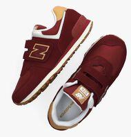 Rode NEW BALANCE Lage sneakers PV574  - medium