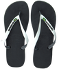 Zwarte HAVAIANAS Slippers BRASIL MIX - small