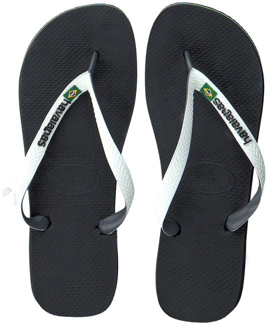 Zwarte HAVAIANAS Slippers BRASIL MIX - large