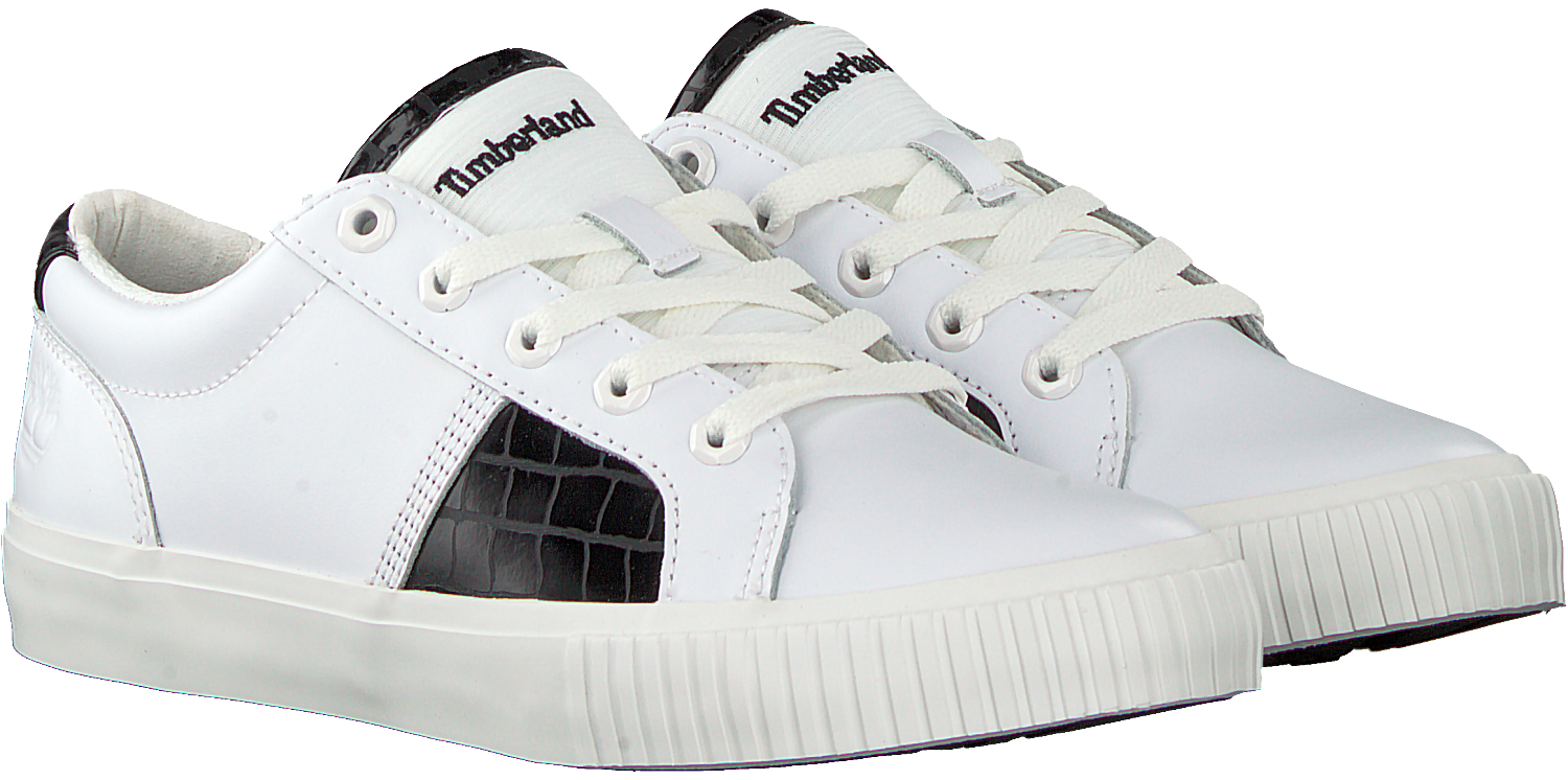 Witte TIMBERLAND Lage sneakers SKYLA BAY OXFORD Omoda.nl