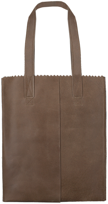 Taupe MYOMY Handtas DELUXE OFFICE - large