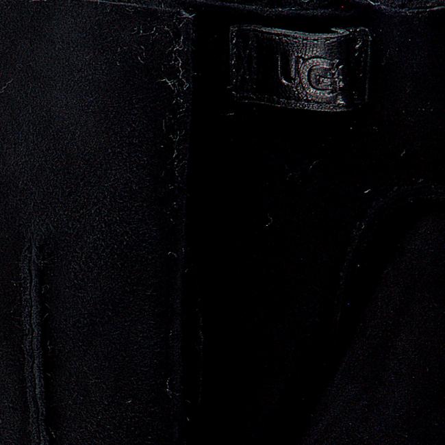 Zwarte UGG Handschoenen CONTRAST SHEEPSKIN GLOVE  - large