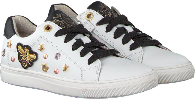 Witte BRAQEEZ Sneakers LEXI LOUWIES  - large