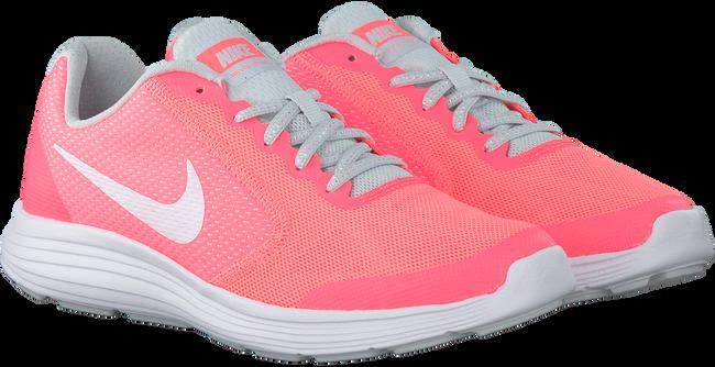 Roze NIKE Sneakers REVOLUTION 3 KIDS  - large