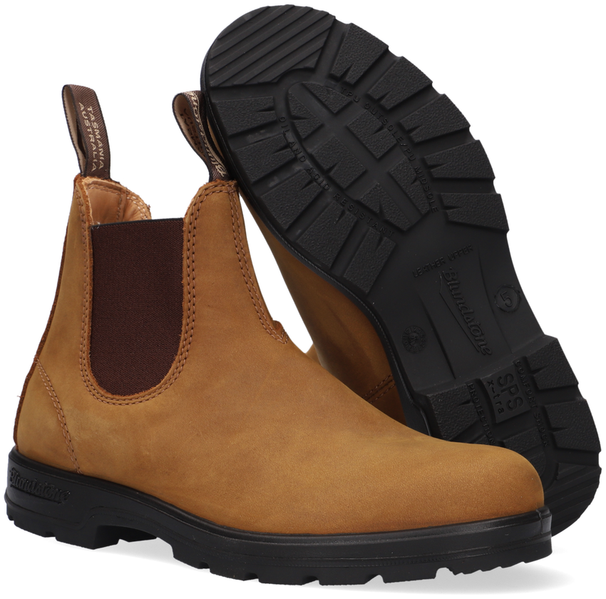 Bruine BLUNDSTONE Chelsea boots CLASSIC DAMES  - larger