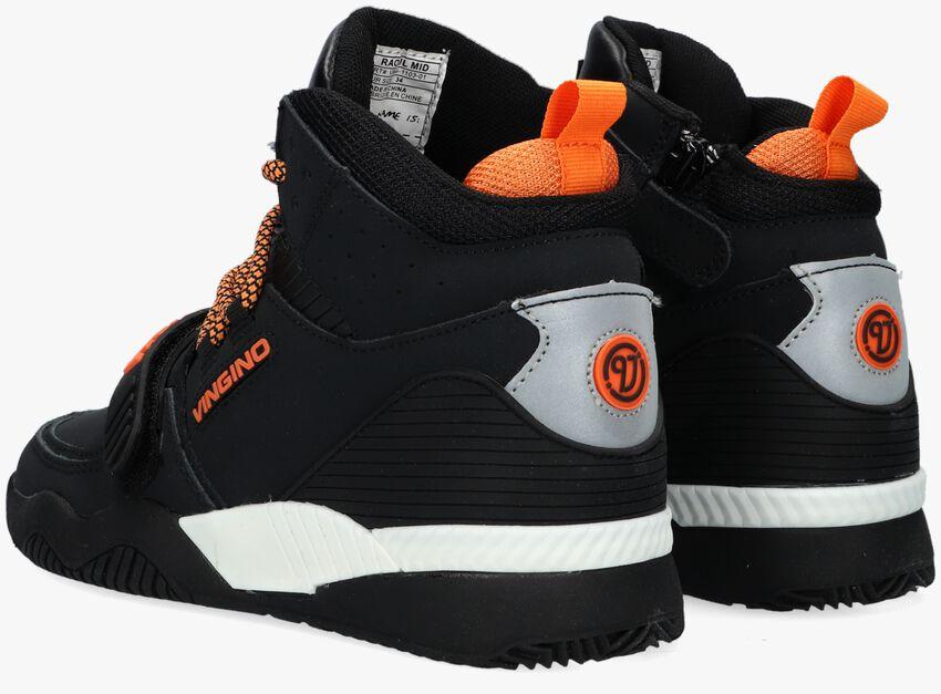 Zwarte VINGINO Hoge sneaker RAOUL MID  - larger