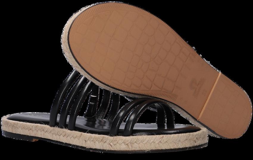 Zwarte FRED DE LA BRETONIERE Slippers 154010004  - larger