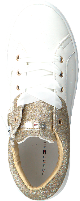 Witte TOMMY HILFIGER Sneakers T3A4-00235  - large