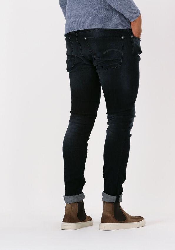 Zwarte G-STAR RAW Skinny jeans A634 - ELTO BLACK SUPERSTRETCH  - larger