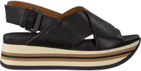 Zwarte VIA VAI Sandalen 5201038 - medium