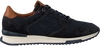 Blauwe TOMMY HILFIGER Lage sneakers RUNNER CRAFT  - small