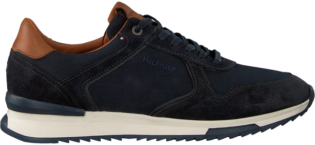 Blauwe TOMMY HILFIGER Lage sneakers RUNNER CRAFT  - large