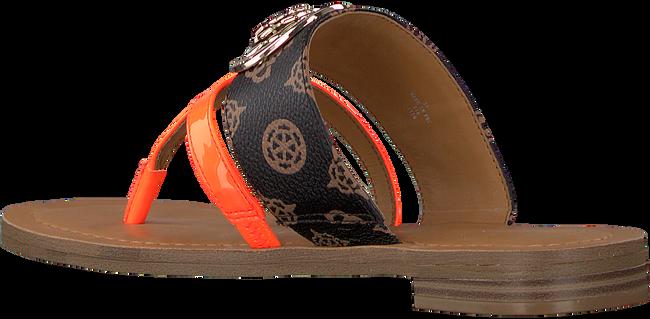 Bruine GUESS Slippers GENERA WUJoXQSG