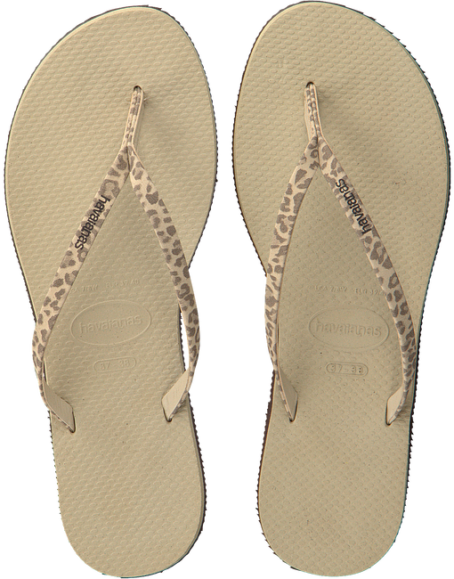 Beige HAVAIANAS Slippers YOU ANIMALS - large