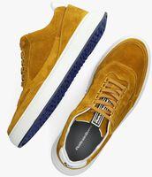 Gele FLORIS VAN BOMMEL Lage sneakers 16323  - medium