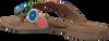 Bruine LAZAMANI Slippers 75.451  - small