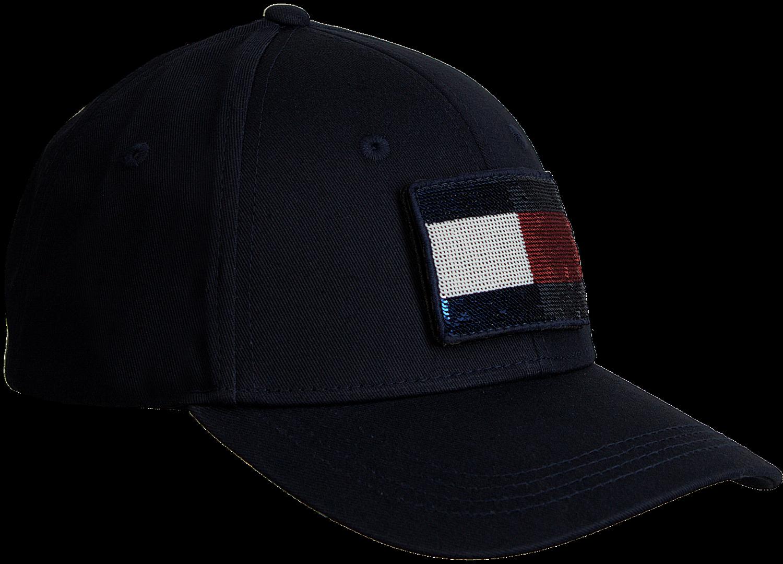 Blauwe TOMMY HILFIGER Pet SWAP YOUR PATCH CAP - large. Next c728b25e610a