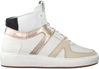 Witte NUBIKK Hoge sneaker JIRO DUNK  - medium