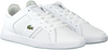 Witte LACOSTE Sneakers NOVAS CT 118  - small