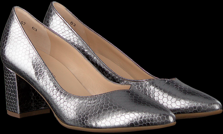 Your Personal Shopper zilveren dames pump met enkellaars i