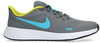 Grijze NIKE Lage sneakers REVOLUTION 5 (GS)  - small
