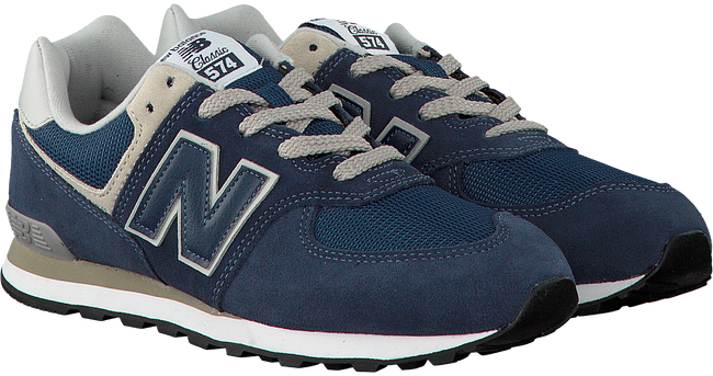 Blauwe NEW BALANCE Sneakers PC574  - large