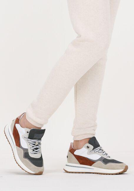 Beige FLORIS VAN BOMMEL Lage sneakers 85351  - large