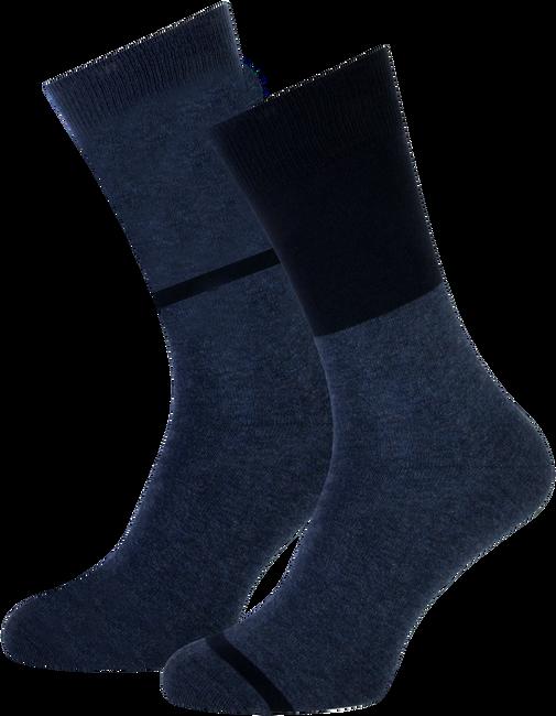 Blauwe MARCMARCS Sokken ALLARD COTTON 2-PACK - large
