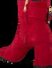 Rode FABIENNE CHAPOT Enkellaarsjes RUBY BOOT - small