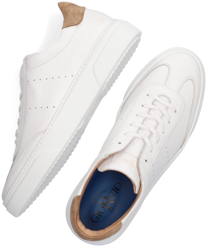 Witte GIORGIO Lage sneakers 980137  - larger