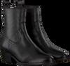 Zwarte NOTRE-V Enkellaarsjes 485  - small