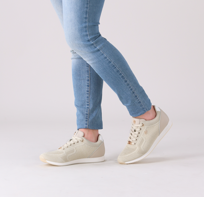 Beige MEXX Lage sneakers GLARE  - large