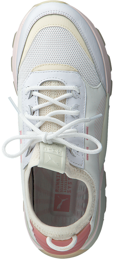 Witte PUMA Sneakers RS-0 TRACKS  - larger