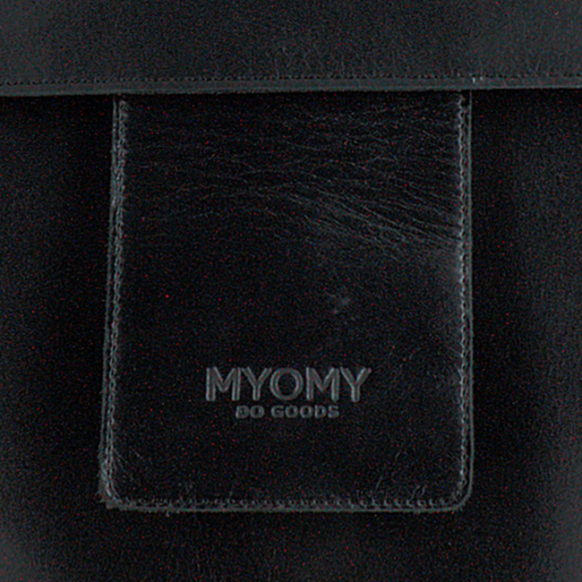 Zwarte MYOMY Rugtas MY HOME BAG BACKBAG  - large