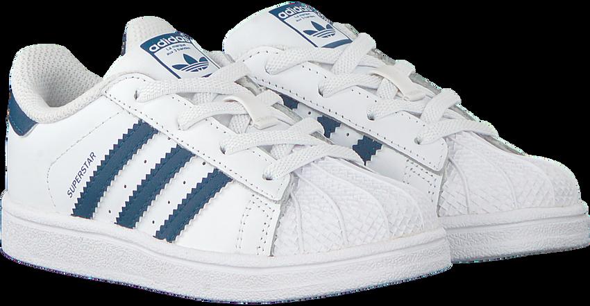 Witte ADIDAS Sneakers SUPERSTAR EL I  J - larger