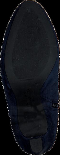 blauwe unisa enkellaarsjes paulos