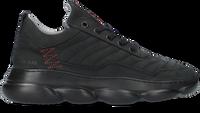 Zwarte RED-RAG Lage sneakers 13541  - medium